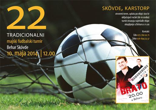 22. tradicionalni fudbalski turnir u Skövdeu