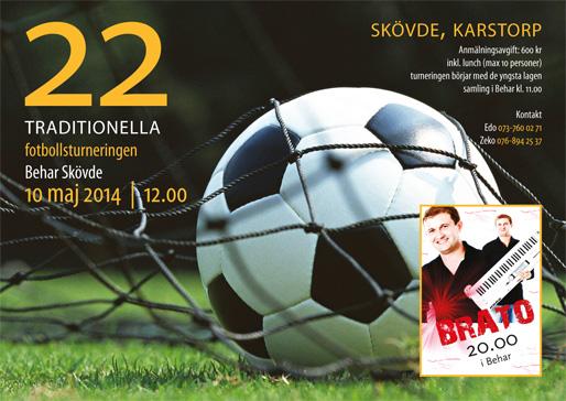 Den 22:a traditionella fotbollsturneringen i Skövde