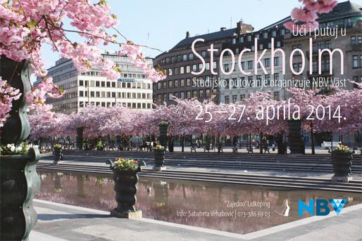 Uči i putuj u Stockholm