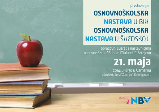 O osnovnoškolskoj nastavi u Bosni i Hercegovini i Švedskoj
