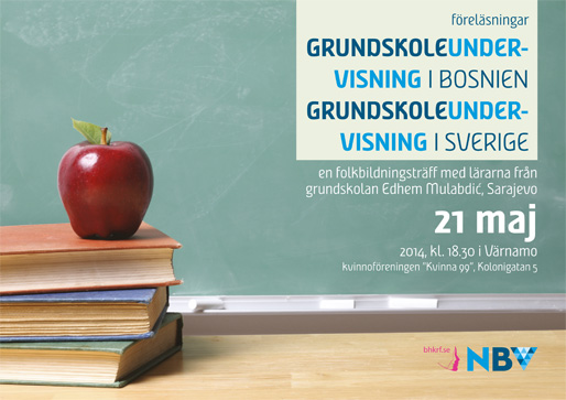Om grundskoleundervisningen i Bosnien och Sverige