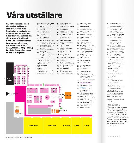 Utställare på Nordiskt Forum Malmö 2014