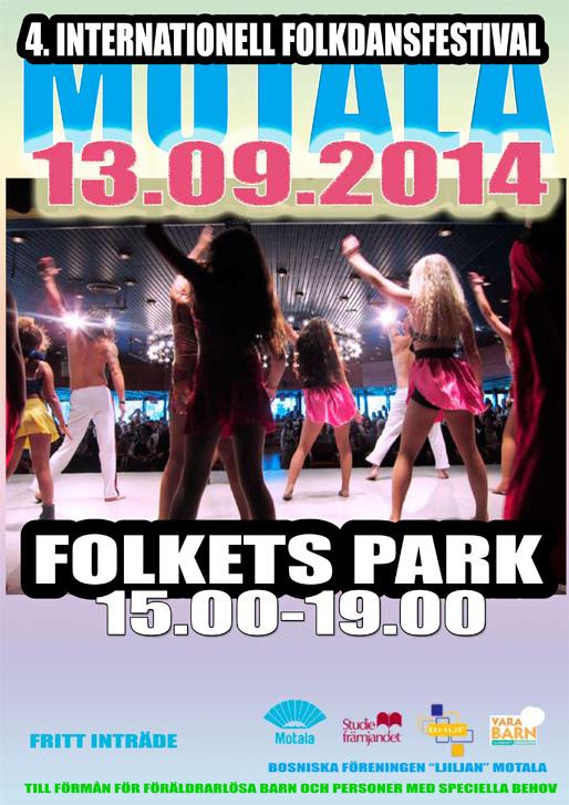 Den 4:e internationella folkdansfestivalen i Motala