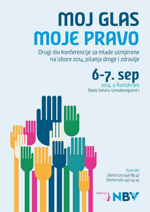 """Konferencija za mlade """"Moj glas, moje pravo"""""""