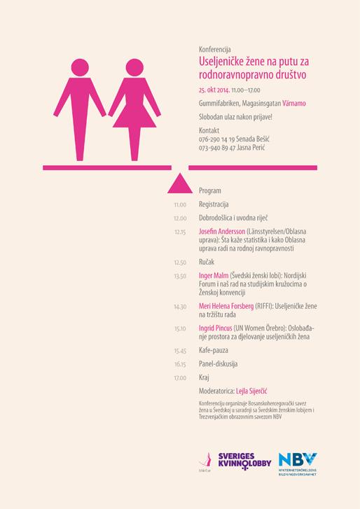 Konferencija Useljeničke žene na putu za rodnoravnopravno društvo