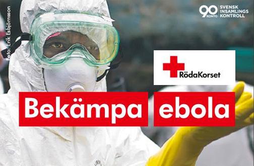Hjälp Röda Korset att bekämpa Ebola!