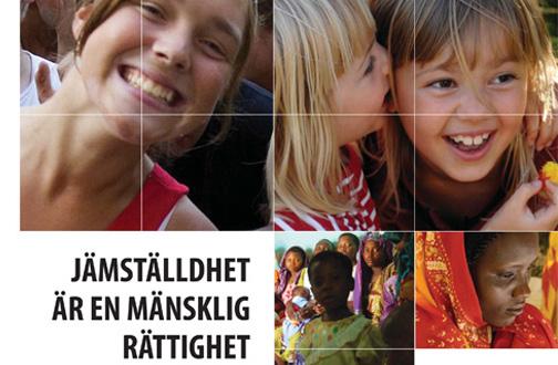 """Handboken """"Jämställdhet är en mänsklig rättighet"""""""