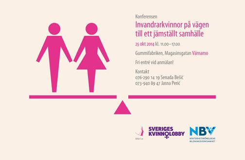 Konferensen Invandrarkvinnor på vägen till ett jämställt samhälle