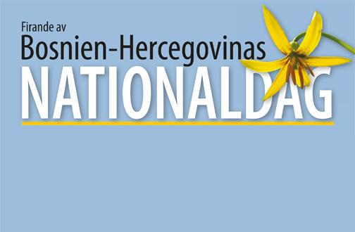 Firande av Bosnien-Hercegovinas nationaldag och BHKRF:s centrala kulturprogram