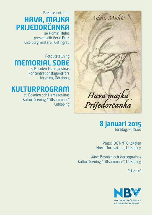 Bokpresentation och fotoutställning i Lidköping