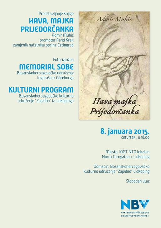 Predstavljanje knjige i foto-izložba u Lidköpingu