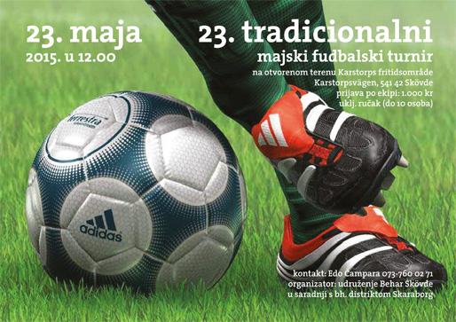 23. tradicionalni fudbalski turnir u Skövdeu