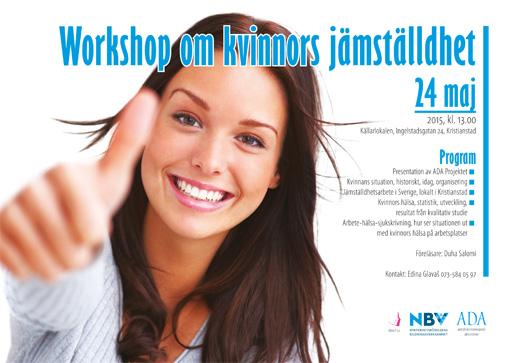 Workshop om kvinnors jämställdhet