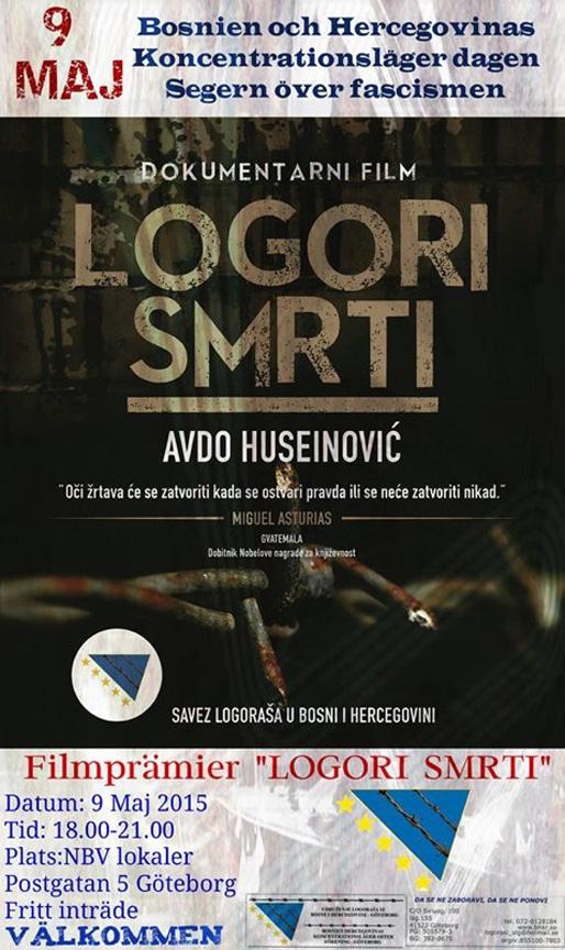 Švedska premijera dokumentarca Logori smrti