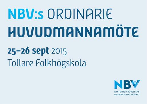 NBV:s ordinarie huvudmannamöte
