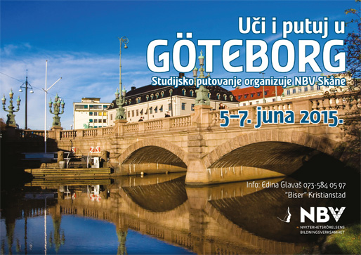 Uči i putuj u Göteborg