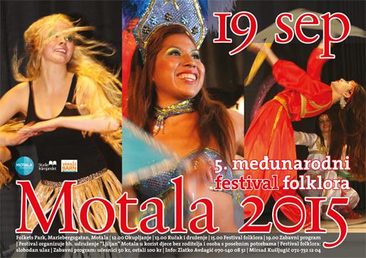 5. Međunarodni festival folklora u Motali