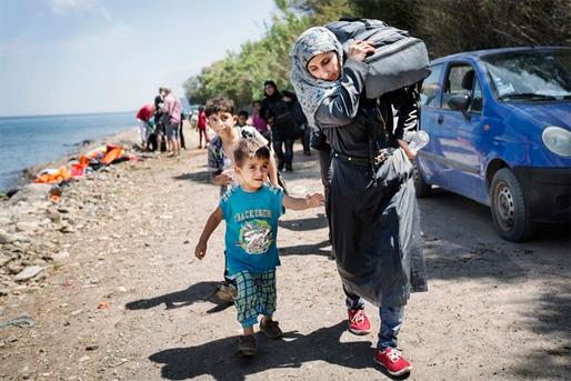 Flyktingkrisen (Foto: Linus Sundahl-Djerf)