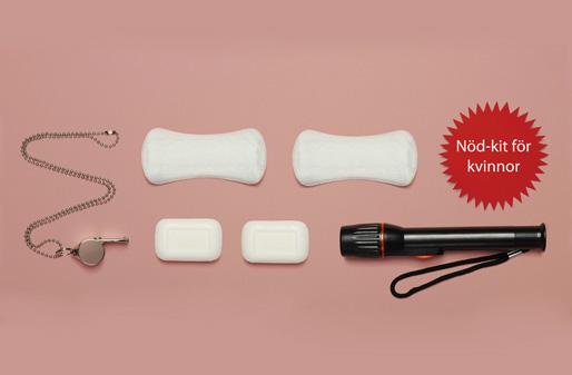 Nöd-kit till kvinnor