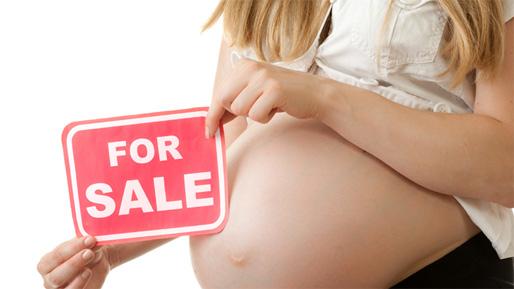 Nej till surrogatmödraskap!