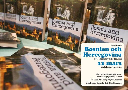 """Fotoboken """"Bosnien och Hercegovina"""""""