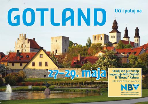 Uči i putuj na Gotland