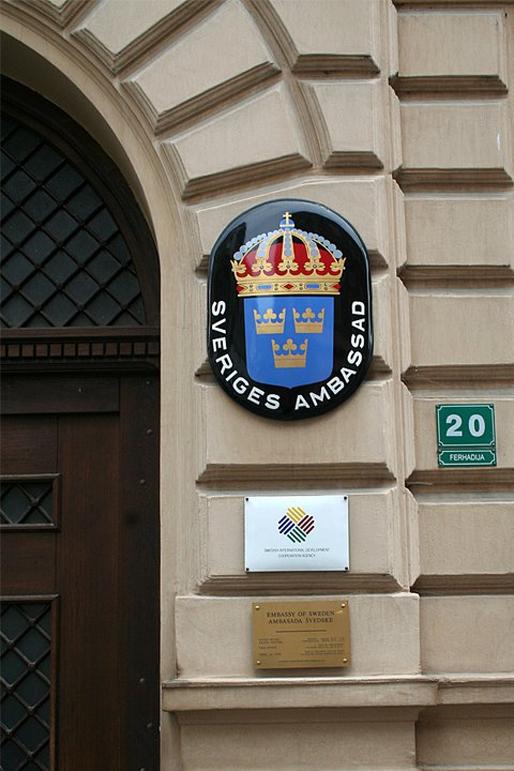 Sveriges ambassad i Sarajevo