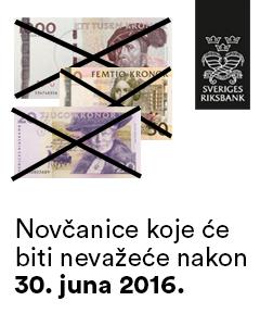 Novčanice koje će biti nevažeće nakon 30. juna 2016.