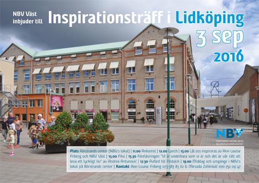 Inspirationsträff i Lidköping