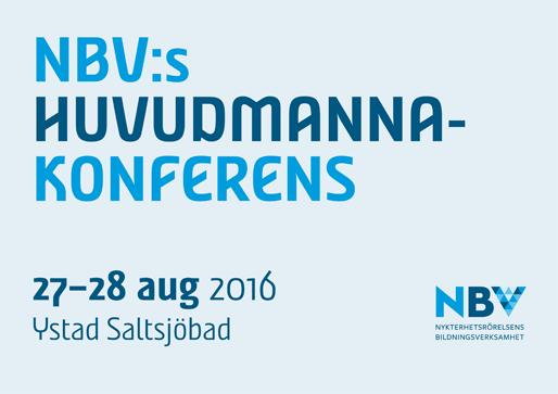 NBV:s huvudmannakonferens 2016