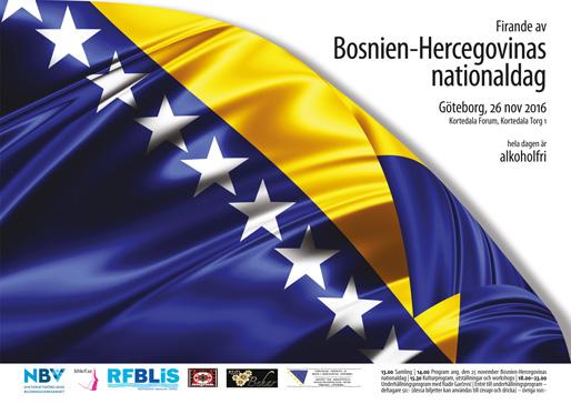 Firande av Bosnien-Hercegovinas nationaldag