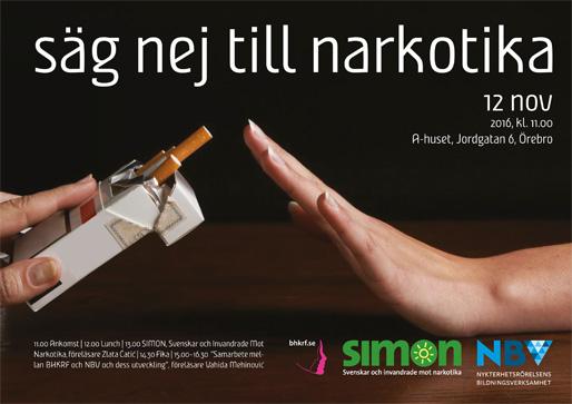 Säg nej till narkotika