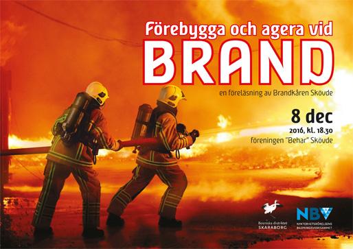 Förebygga och agera vid brand