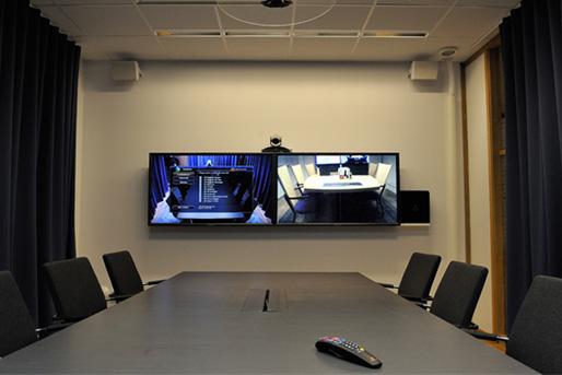 Rum för videokonferens