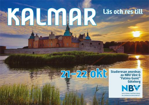 Läs och res till Kalmar (från Göteborg)