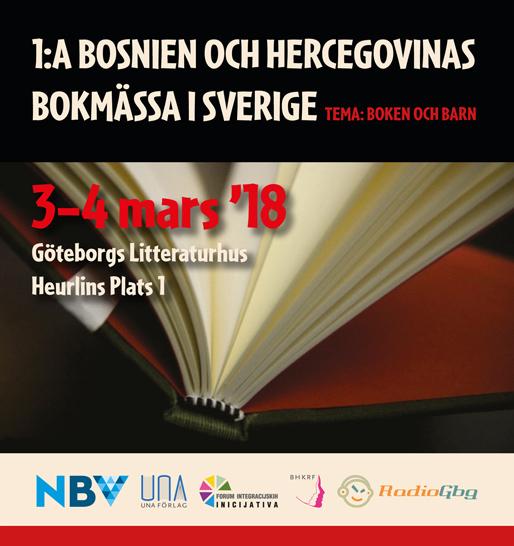 1:a Bosnien och Hercegovinas bokmässa i Sverige