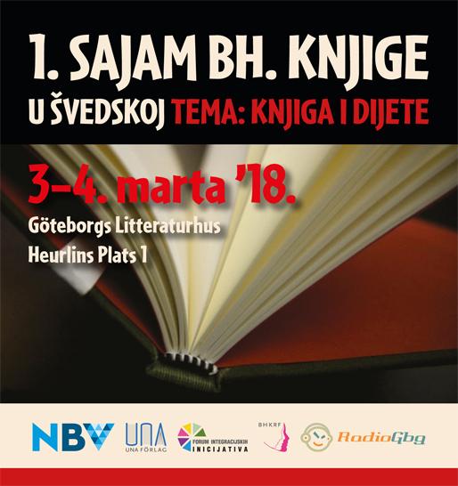1. Sajam bh. knjige u Švedskoj