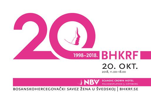 BH Savez žena u Švedskoj obilježava svoju 20-godišnjicu