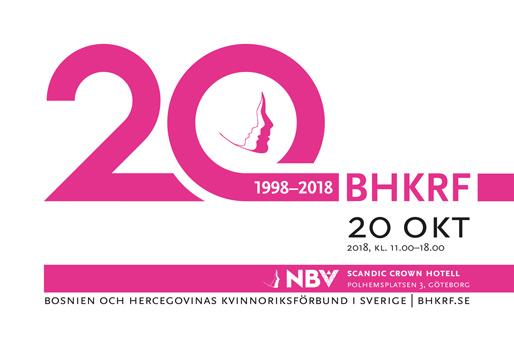 Bosnien och Hercegovinas Kvinnoriksförbund firar sitt 20-årsjubileum