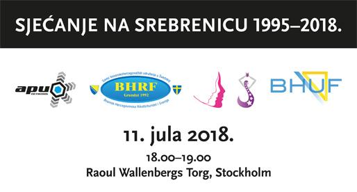 Sjećanje na Srebrenicu 1995–2018.