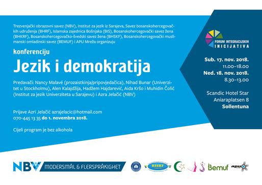 "Konferencija ""Jezik i demokratija"""