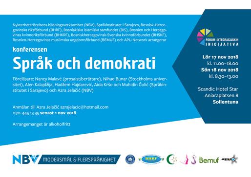 """Konferensen """"Språk och demokrati"""""""