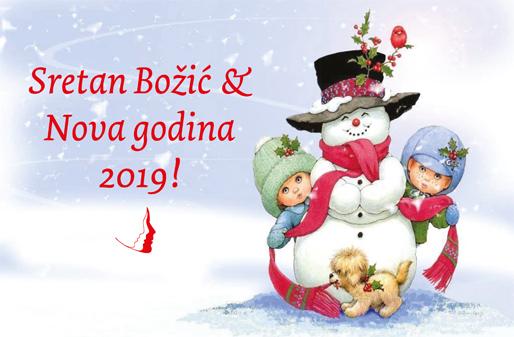 Sretan Božić i Nova 2019. godina!