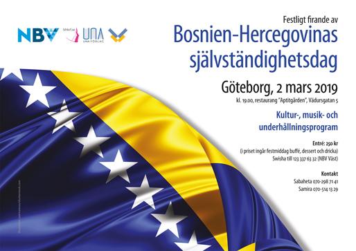 Festligt firande av Bosnien och Hercegovinas självständighetsdag (Foto: patrice6000/shutterstock.com)