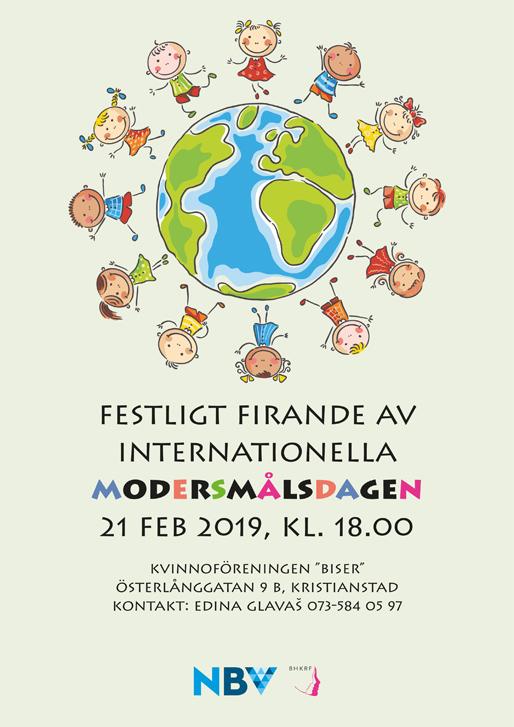 Festligt firande av internationella modersmålsdagen