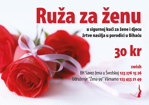 Ruža za ženu