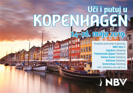 Uči i putuj u Kopenhagen