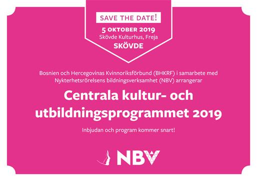 Centrala kultur- och utbildningsprogrammet 2019