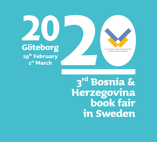 3rd Bosnia and Herzegovina book fair in Sweden
