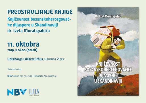 Predstavljanje knjige: Književnost bosanskohercegovačke dijaspore u Skandinaviji